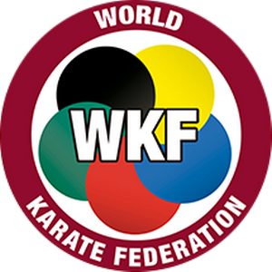 world karate federation red sun karate